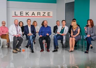 Konferencja serialu TVN pt. Lekarze
